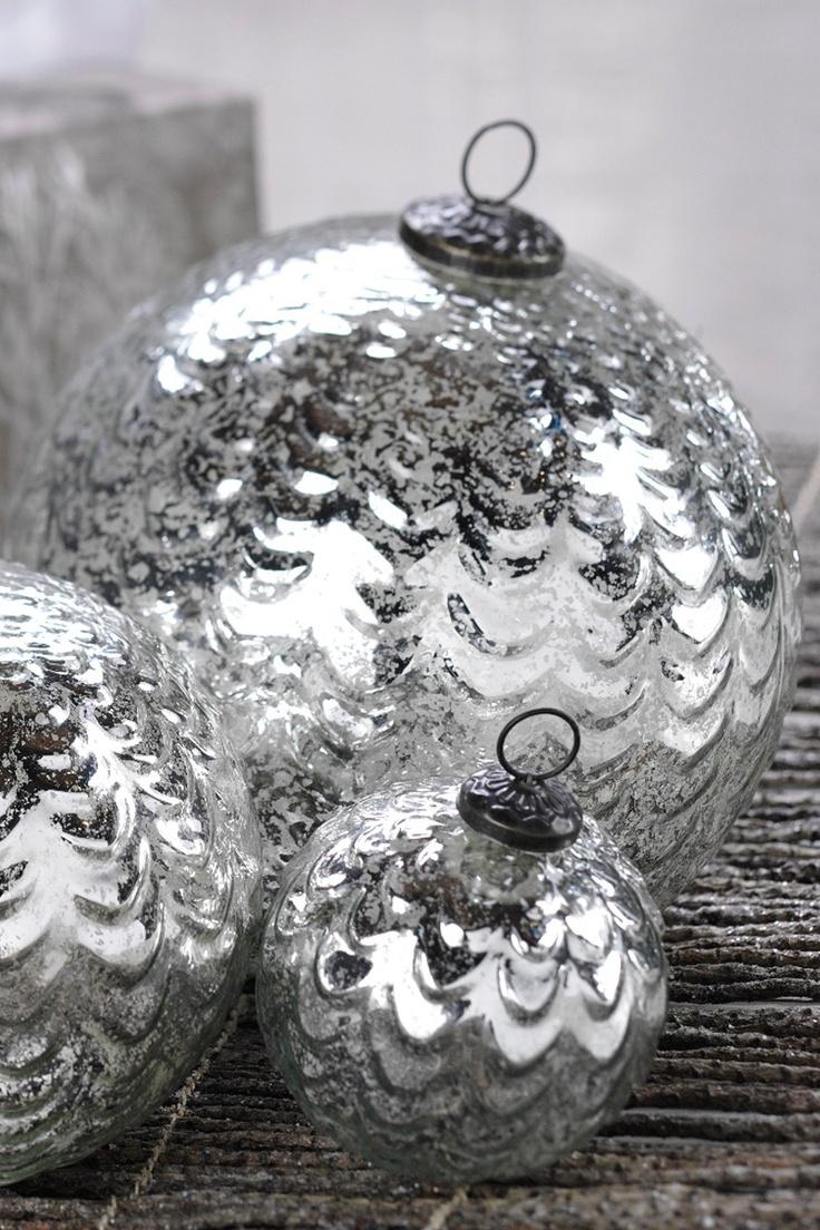Sputnik christmas ornaments - Silver Plata Gin Argento C Agent Colour