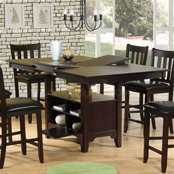 ideas about counter height table on pinterest dining rooms counter height dining table and leather living room set: table for kitchen