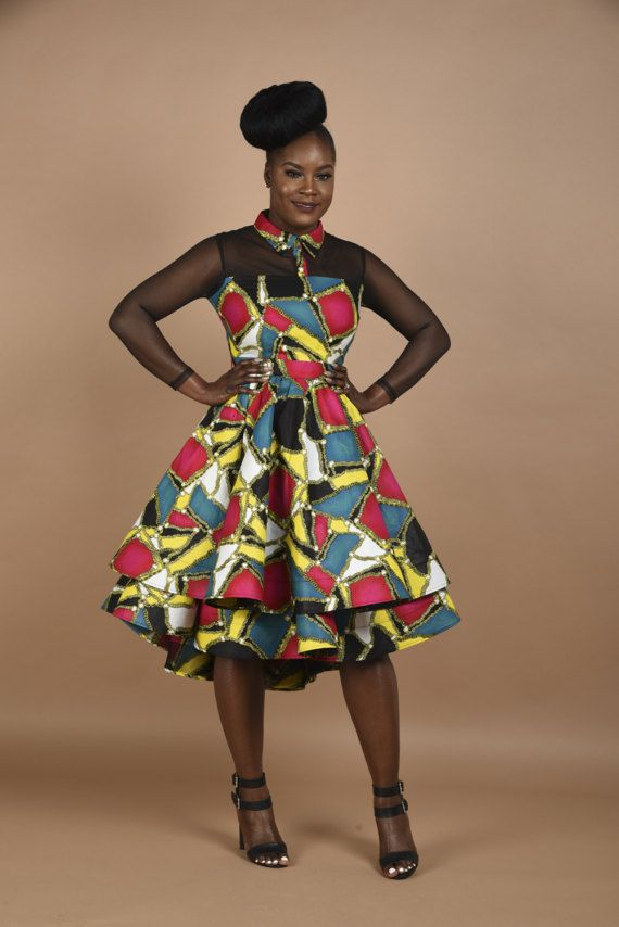 Luxury has arrived. You will fall in love with this Princess dress, carefully Made to perfection African print Mesh double step dress  Back invisible zipper Slightly low at the back Fully lined Limited quantity This dress is Ready to ship and cannot be altered. Please check Our Size Chart Before ordering. 100% cotton By Rahyma