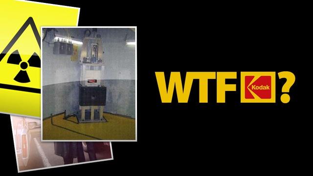 Kodak Had a Secret Nuclear Reactor Loaded With Enriched Uranium Hidden In a Basement