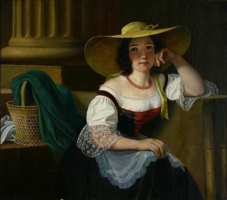 Artist József Borsos (1812–1883)