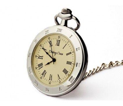 Stylowy zegarek męski Srebrny Klasyk