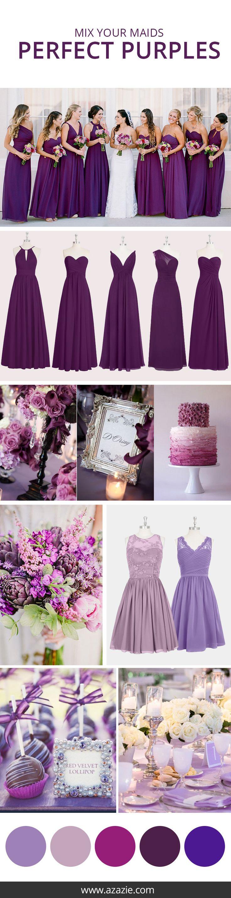 www.viajeslunamiel.com ♥ | #Ideas #Viajes #LunaMiel #Love #Amor #Boda #Wedding #NosCasamos #CelebraElAmor #Juntos #Novia #damasDeHonor #maidOfHonor #Purple #Morado #Vestido