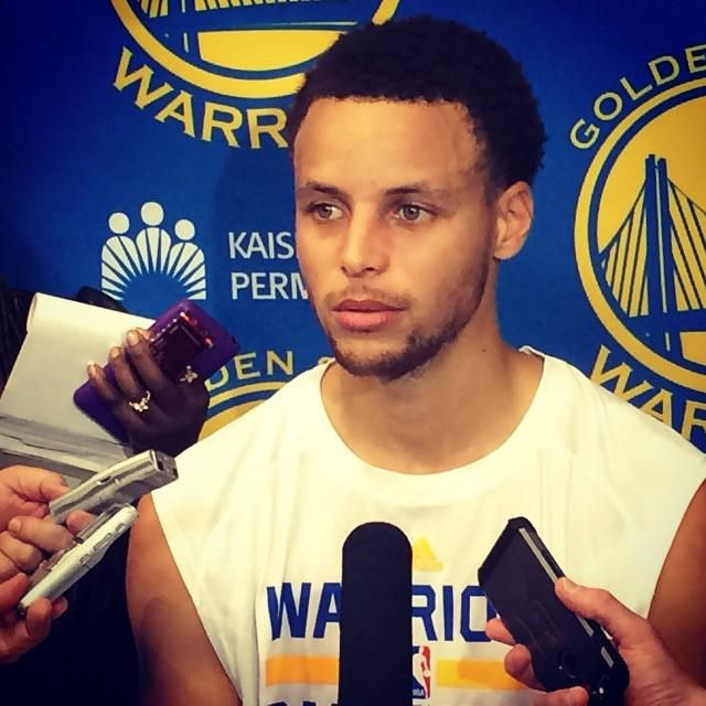I have a faint obsession with Steph Curry right about now