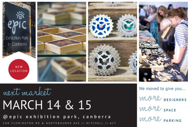 The Handmade Market in Canberra is held four times a year.
