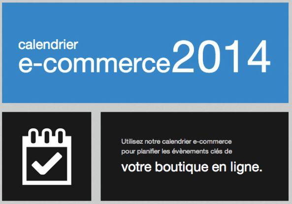 """[BLOG] """"Calendrier E-commerce 2014""""  Je sais que les Soldes d'Hiver viennent à peine de commencer et que vous avez autre chose à faire que de préparer le reste de l'année mais c'est pourtant le bon moment !  http://www.clicboutic.com/blog/2014/01/08/calendrier-ecommerce-dates-importantes-2014/"""
