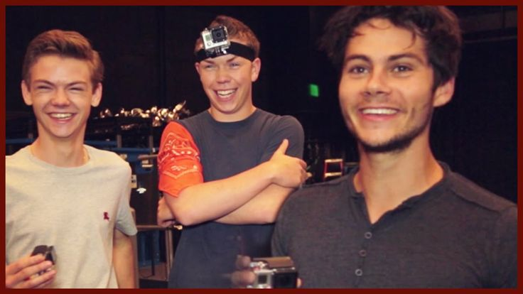 DYLAN O'BRIEN AND THE MAZE RUNNER CAST PLAY COPS AND ROBBER!!  (I know it's not technically Teen Wolf... But! But!!!  Dylan^.^)