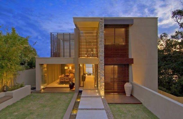 Casa Moderna en Vaucluse por Bruce Stafford Architects, Sydney http://www.arquitexs.com/2014/01/casa-moderna-vaucluse-bruce-stafford.html