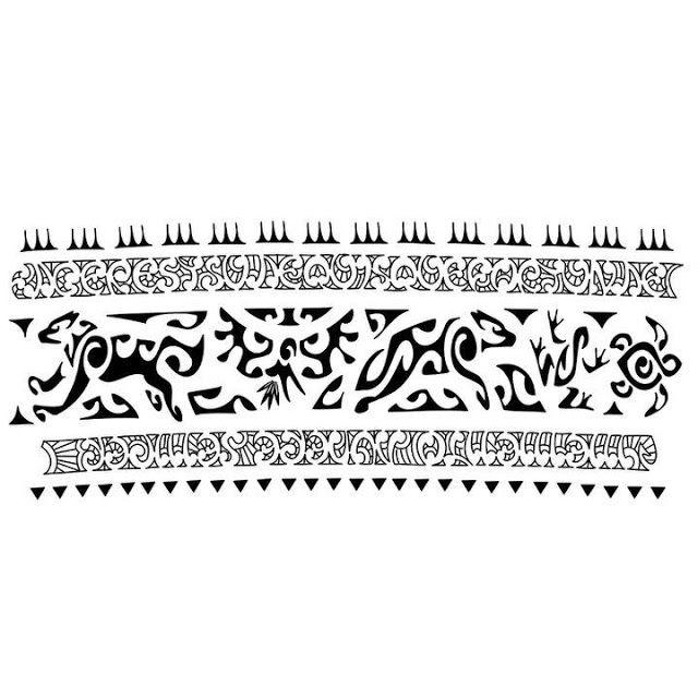 Tattoo Maori Maori Tattoo Bracelete Tatuagem Maori