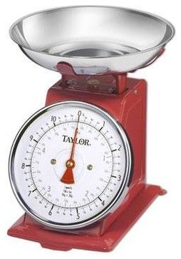 Taylor Retro Kitchen Scale - contemporary - Timers Thermometers And Scales - HPP Enterprises