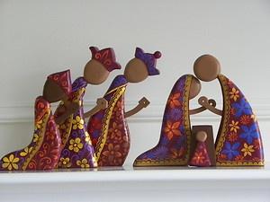 "Nativity Scene, 8"" tall $134"