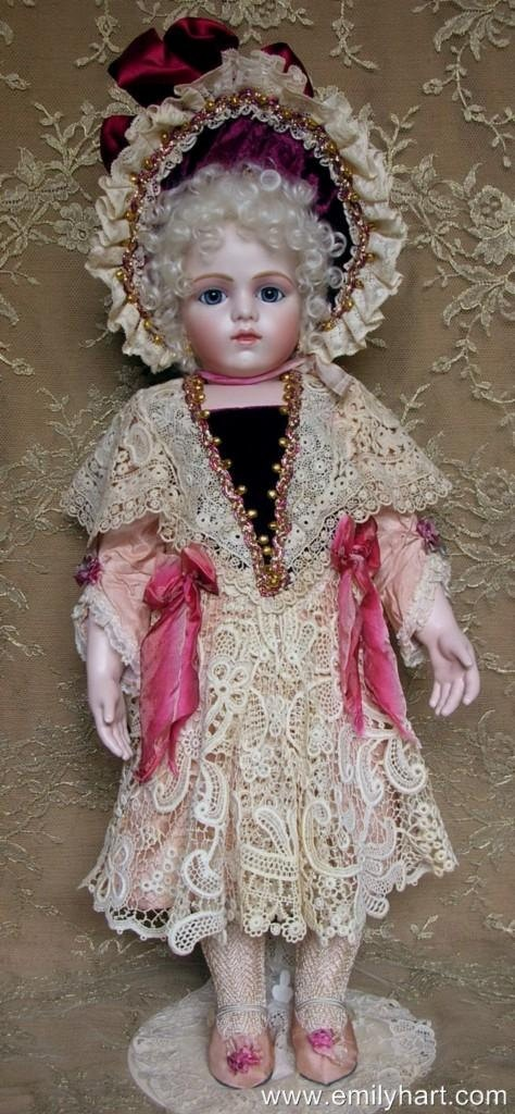 Bru jne 13 Bebe French Antique Reproduction bisque doll by Emily Hart of Emilyhartdolls on Etsy