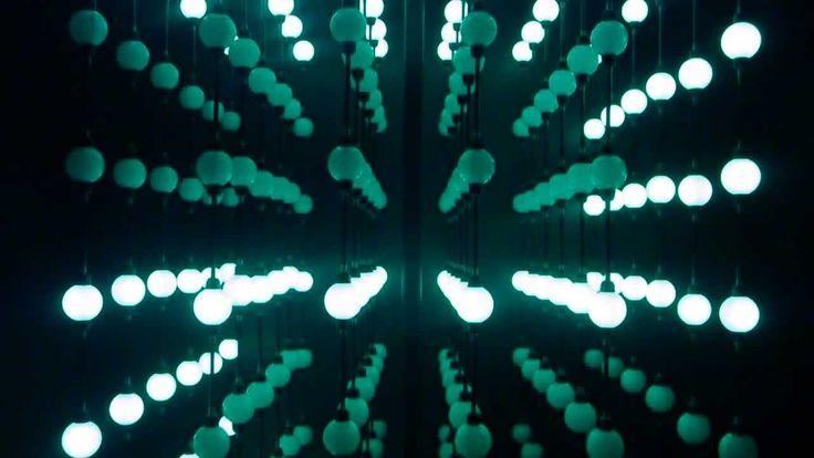 Simple grid LED close up