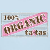 Official Save the ta-tas 100% Organic ta-tas Tee