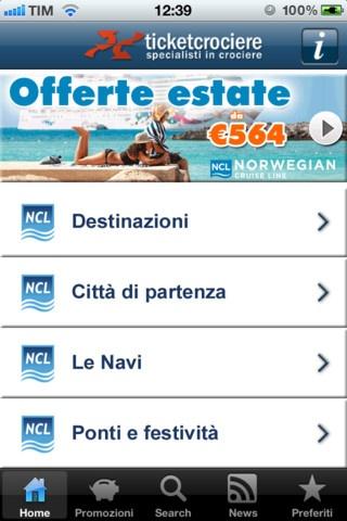 """Scarica la App GRATUITA """"CrocieraNCL"""" per consultare subito tutte le partenze di NCL - Norwegian Cruise Line. Questa APP, unica nel suo genere, ti consente di entrare immediatamente nel mondo delle Crociere NCL: catalogo aggiornato in tempo reale nei prezzi e disponibilità, promozioni e offerte speciali, notizie aggiornate.  http://itunes.apple.com/it/app/crocierancl-by-ticketcrociere/id516941930?mt=8"""