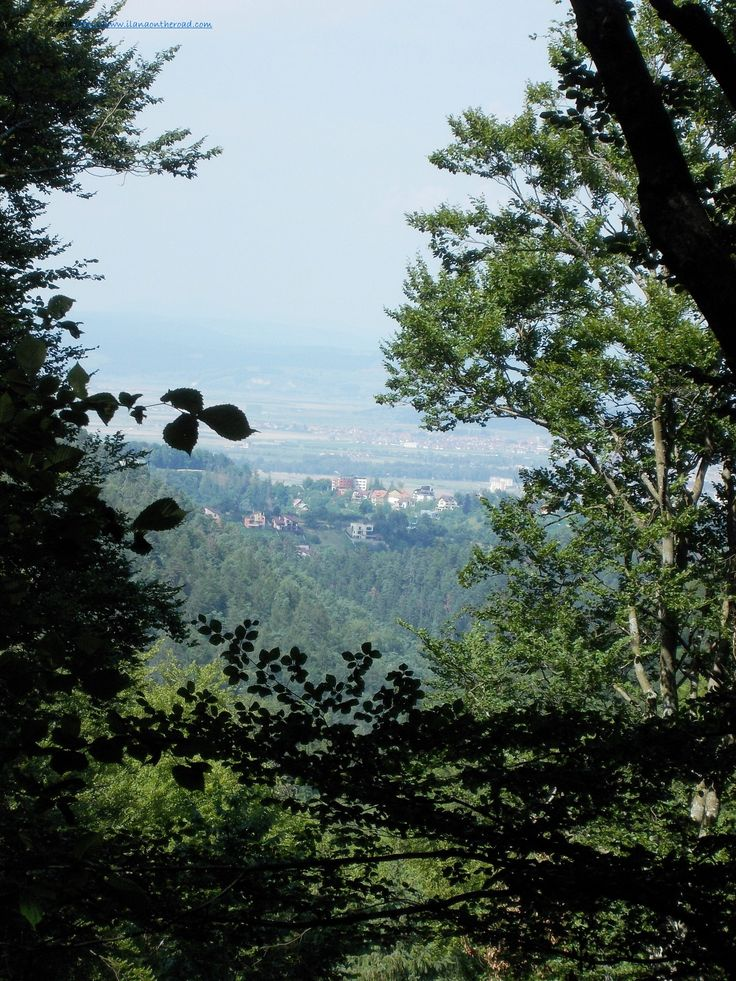 On the way to Brasov