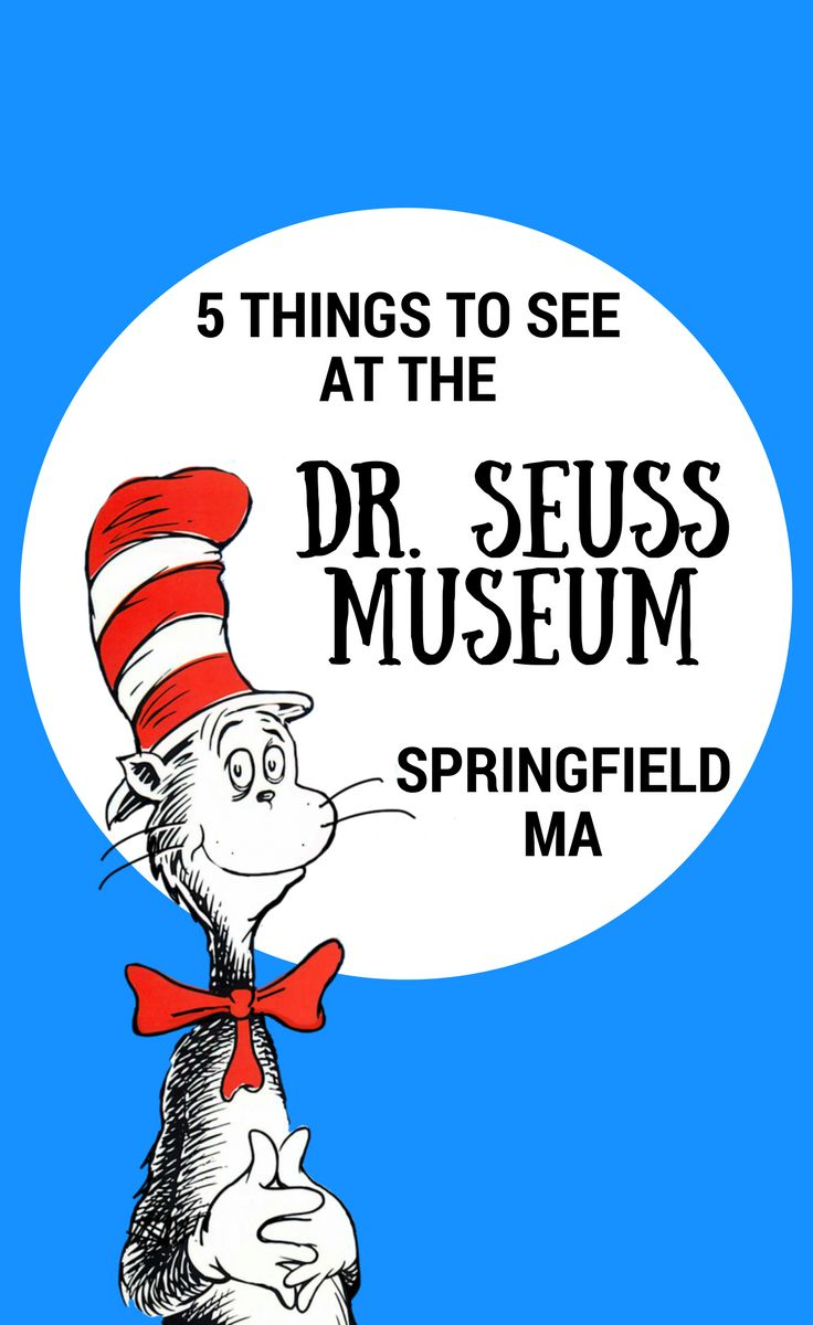 Dr. Suess Museum / Springfield, Massachusetts / New England / New England with Kids / Kids Activities / Museum / Amazing World of Dr. Seuss Museum / Springfield Museums