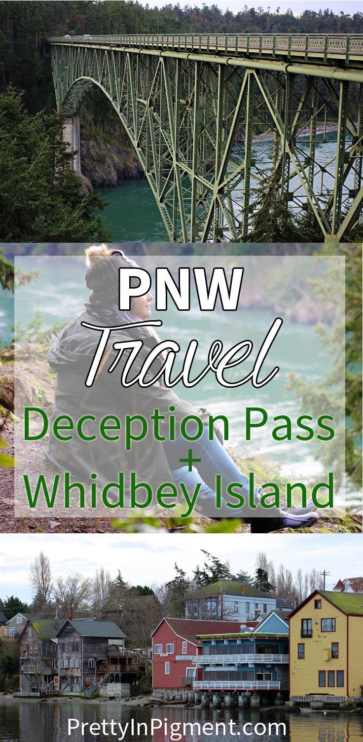 Pacific Northwest Travel: Deception Pass + Whidbey Island, Washington | PNW, travel, North America