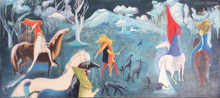 """Leonora Carrington Moorhead (Inglaterra, 6 de abril, 1917- México, 25 de mayo, 2011), desarrolló un lenguaje artístico determinado por diversos temas como el mito céltico, el simbolismo alquímico, el gnosticismo, la cábala, la psicología junguiana y el budismo tibetano, según la Artstudio Magazine. En opinión de la historiadora en arte Mercedes Sierra Kehoe, Leonora Carrington logró recreaciones y creaciones que hizo mitológicas. """" Fue un gran ser humano que atravesó diversas facetas en su…"""