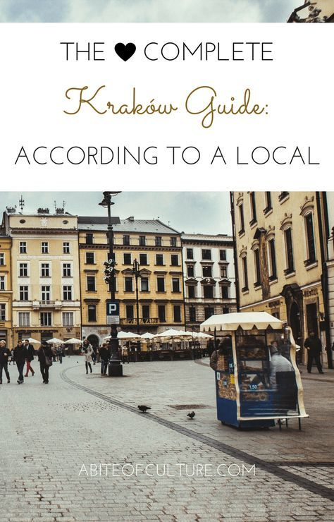 The Complete Krakow Guide: According to a Local; Krakow, Poland is a place filled with history, culture, out-of-this-world street food, and tons of things to do! With this guide you'll get a local's perspective on all things Krakow and you'll get to experience it like a local! Happy travels!