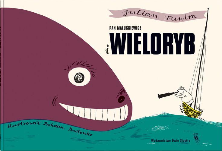 Pan Maluśkiewicz i wieloryb - Wydawnictwo Dwie Siostry