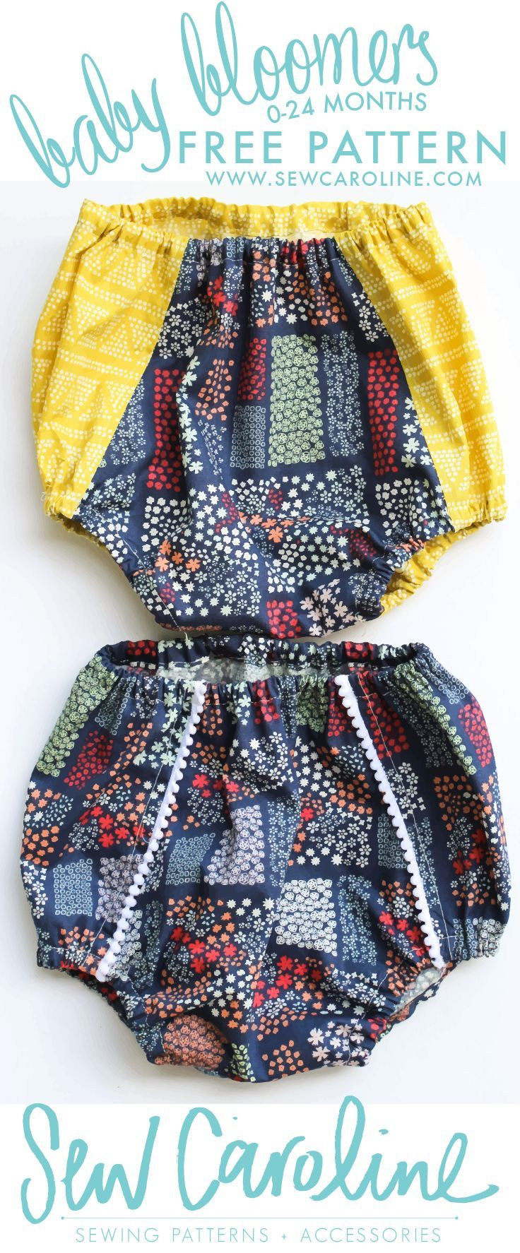 FREE Baby Bloomers PDF Pattern - | Sewing: Children ...