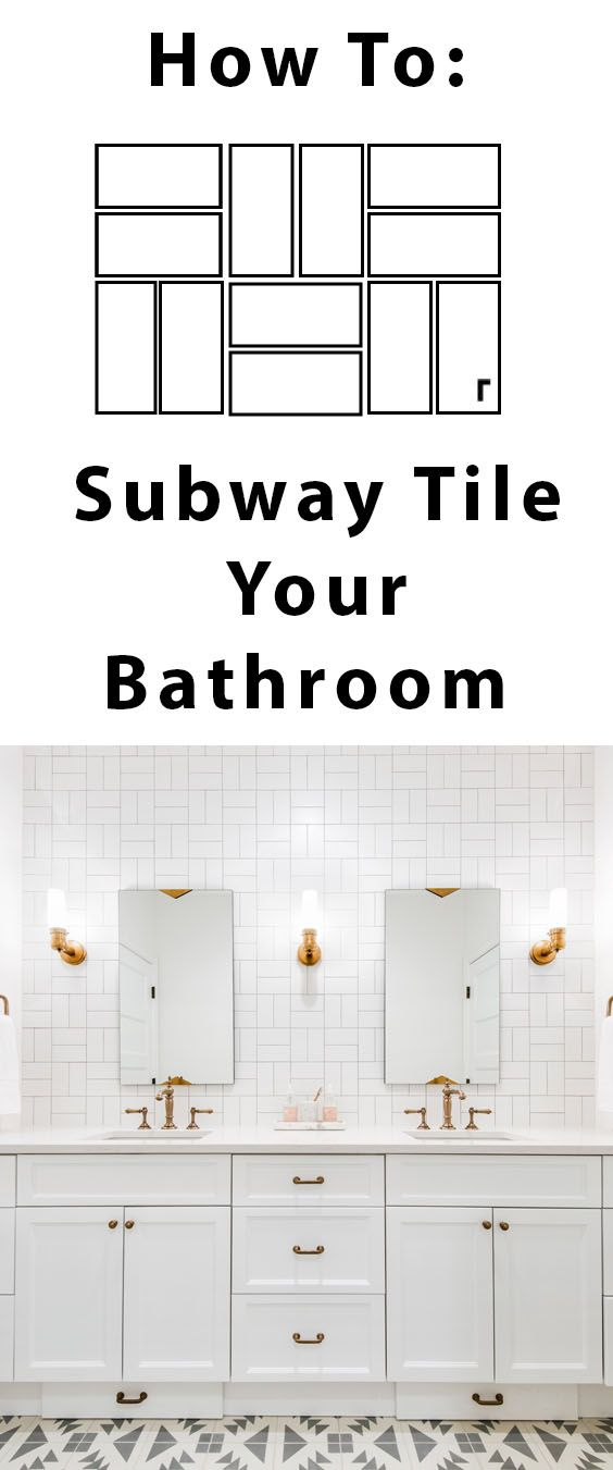 9 Hints To Create the Perfect White Subway Tiled Bathroom