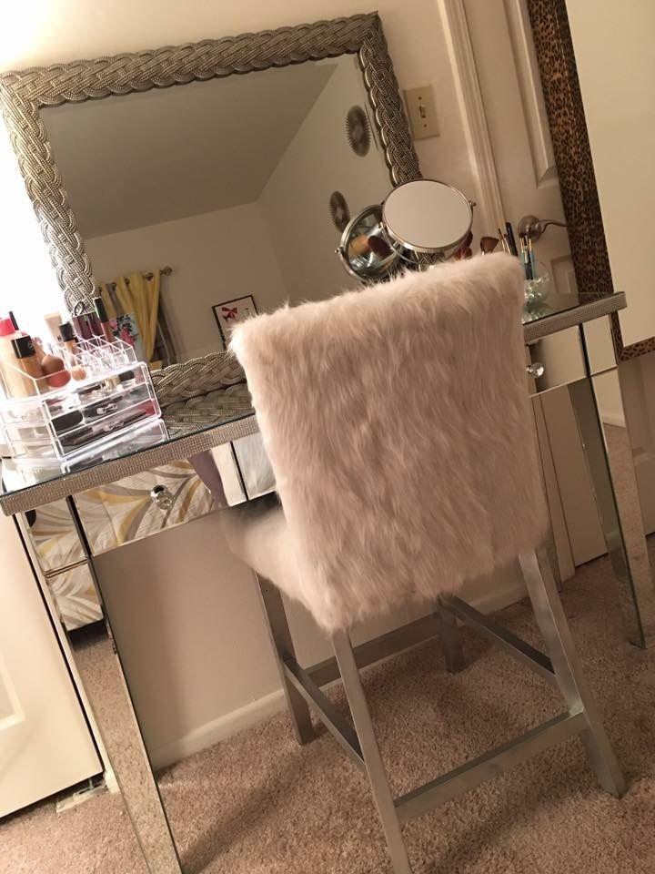 My vanity in my dream closet goals!