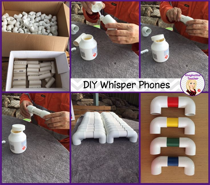 DIY Whisper Phones - a great tool to help students practise the vital skill of LISTENING!