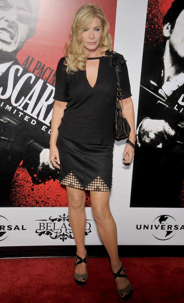 Mrs. Gene Simmons, Shannon Tweed, is another viable candidate for Mrs. Robinson (who has blond hair in the trilogy). I think she would be awesome