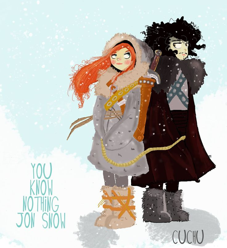 Game of Thrones -- Sònia González: Frikeando 2 :Jon Nieve e Ygritte . Juego de…