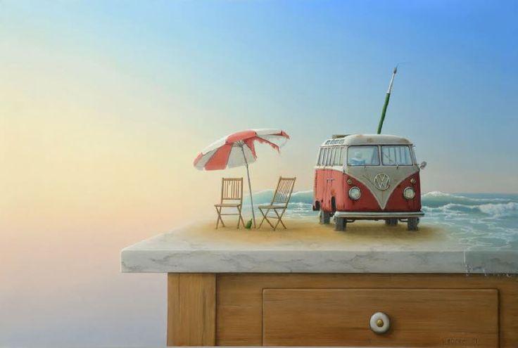 Joachim Lehrer = Die Farben eines vergessenen Sommers