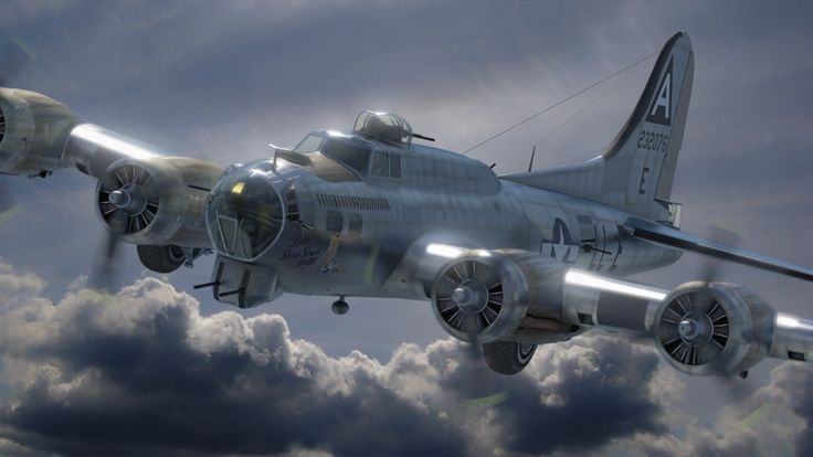 """""""Shoo Shoo Shoo Baby"""" was a B-17 bomber of WW2 and was named by her crew for a song of the same name made popular by The Andrews Sisters, the favourite song of its crew chief T/Sgt. Hank Cord..."""