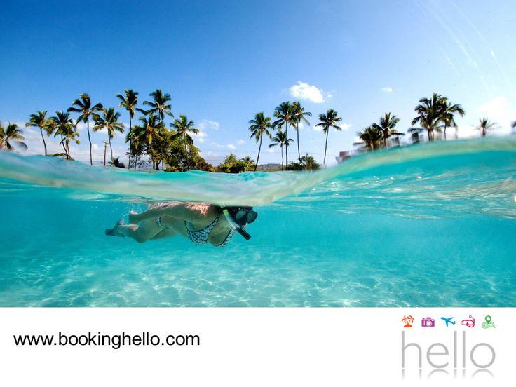 LGBT ALL INCLUSIVE AL CARIBE. Bayahíbe es una famosa villa de pescadores en República Dominicana que se distingue por la belleza de sus paisajes y la tranquilidad de su oleaje. Gracias a esta característica, se pueden practicar actividades acuáticas como el snorkeling o paseos en kayak. Perfecto para pasar un día inolvidable con tu pareja. En Booking Hello te invitamos a adquirir tu pack desde nuestra página www.bookinghello.com, para planear tu próximo viaje. #bookinghello