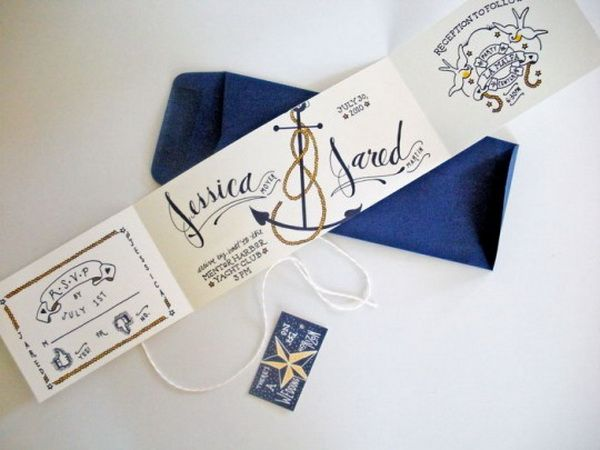 Fresh Ideas for Nautical Summer Style Weddings 2014