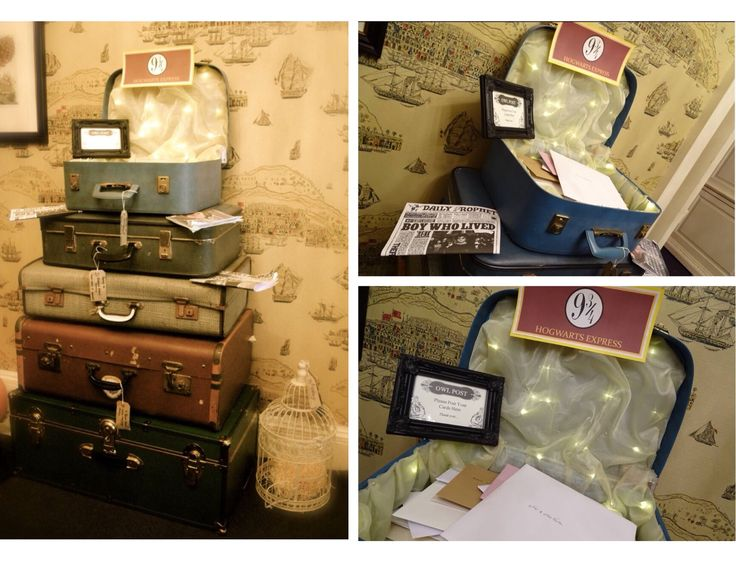 Platform 9 3/4 collecting the wedding mail for Sorrel & Andy's Harry Potter Wedding. Sorrel owns and runs Ambience Venue Styling North  Lancashire.