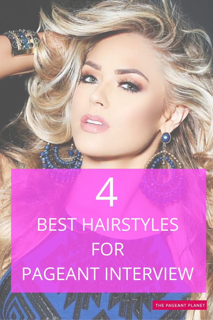 Styling your hair is very important for pageant interview because the judges will be very close to you. Your hair needs to look fresh, healthy and well-styled if you want to make an overall great impression. Here are a few great ideas for styling your hair for the all-important interview portion of competition. 4d