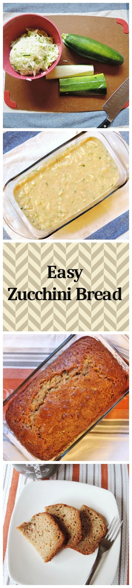 Moist sweet Zucchini Bread is a great way to use up that old or frozen zucchini.