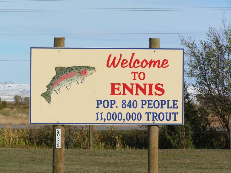 So... I am putting together a trip to Ennis, Montana for a week of fly fishing next summer.