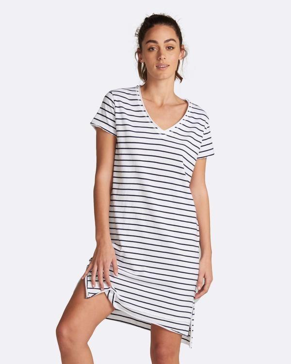 Mable Stripe Dress blossomandglow.com.au