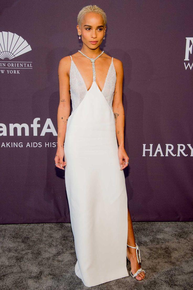 In Versace - At the 19th Annual amfAR New York Gala, 2017