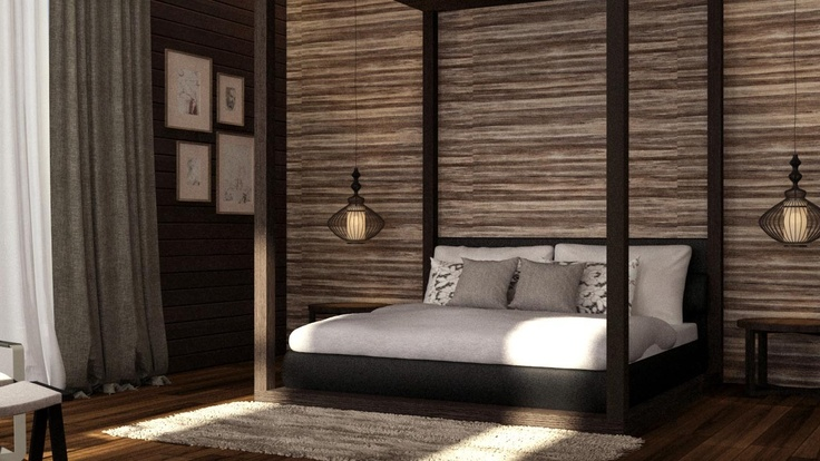 Some Balinese Style Bedroom Design P S Generated By 3d