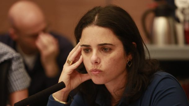 "Israeli Justice Minister Ayelet Shaked said, on Monday, that ""there is no chance for a Palestinian state.""  Shaked was interviewed by Israeli media, during which she forwarded her message to Israeli Prime Minister Benjamin Netanyahu.   #Palestinian State #Shaked"
