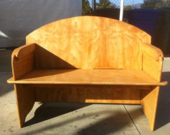 This 5 foot wide table breaks down to 5 main pieces. Assembly is a simple system of slotting the components together then holding it all in place with two keys in the back.  Designed for campers, re-enactors or just for the convenience of storage when not in use.  This item is normally supplied unfinished, however, all Sawdust Woodcrafting Furniture or storage items may have stain or urethane finish applied, (or both). Each is $10.00. Please purchase these options a separate items.  Note…