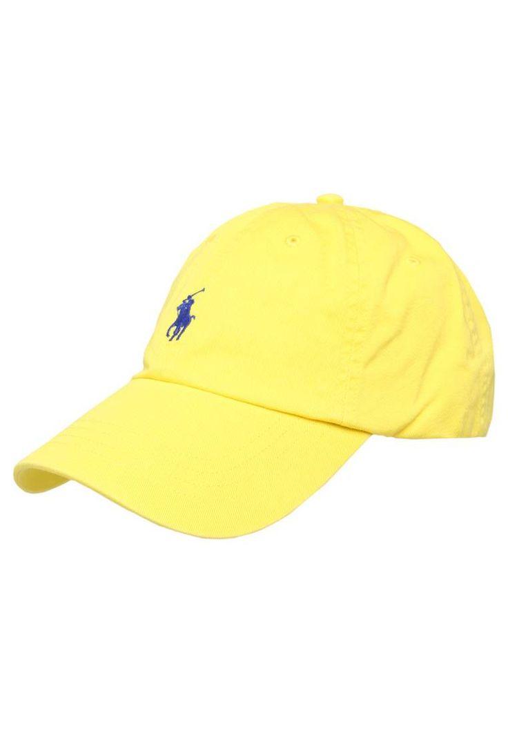 Polo Ralph Lauren. SPRINT - Pet - hampton yellow. Materiaal buitenlaag:100% katoen. wasvoorschrift:handwas. patroon:effen
