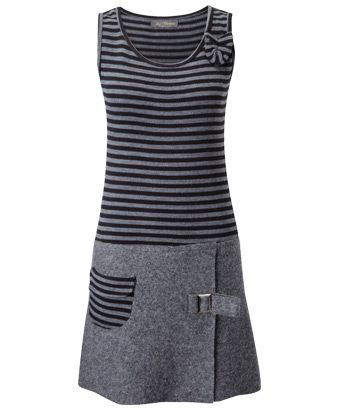 Joe Browns Stripe Pinafore Dress - give your office look a funky twist.