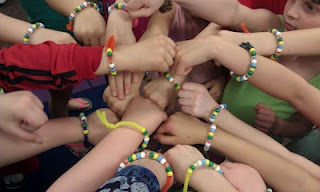 water cycle braceletsBright Ideas, Water Cycling, Beads Bracelets, Three Blinds, Crisscross Applesauce, Girls Scouts, Water Cycle, Water Travel, Cycling Bracelets