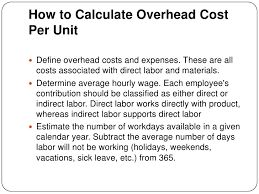 Image result for unit cost calculation formula
