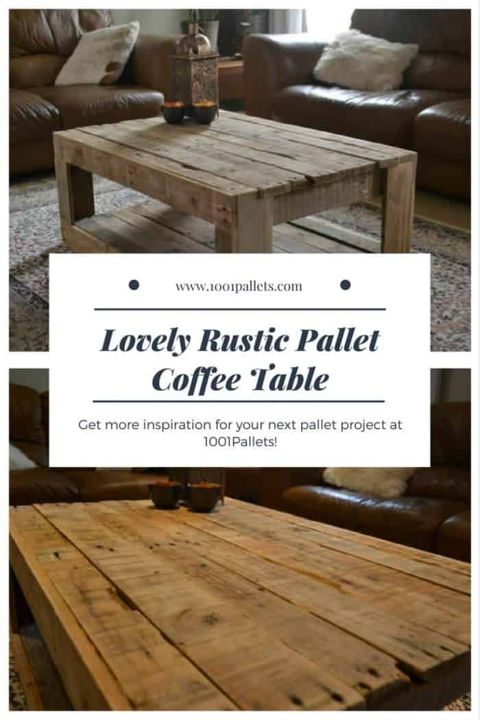 The 62 Most Creative Pallet Coffee Tables For Your Inspiration 1001 Pallets Pallet Coffee Table Wooden Pallet Furniture Coffee Table Wood