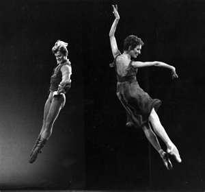 Mikhail Baryshnikov & Natalie Makarova